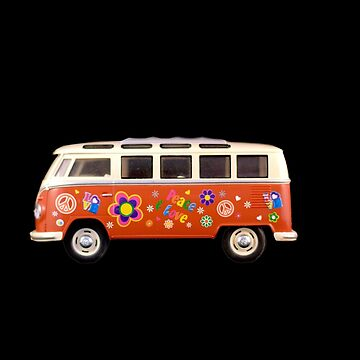 Hippie Campervan by Paulsr