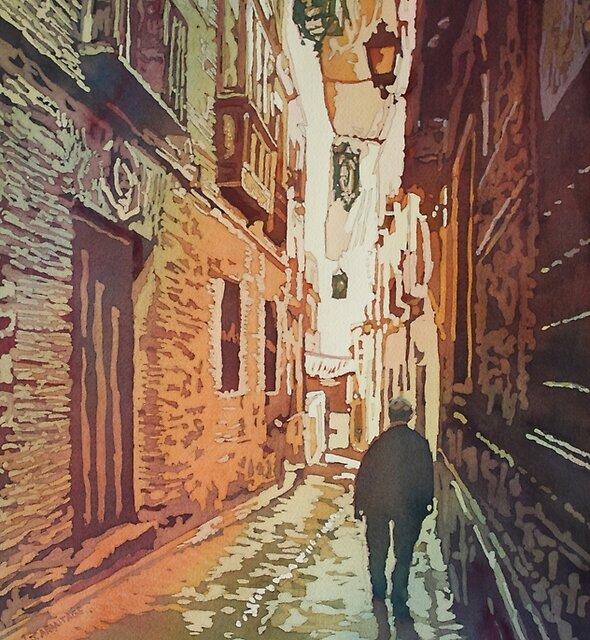 Toledo Morning by JennyArmitage