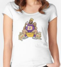 The Burger King Women's Fitted Scoop T-Shirt