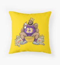 The Burger King Throw Pillow