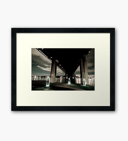 Iron Cove Underbelly Framed Print