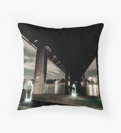 Iron Cove Underbelly Throw Pillow