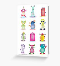Educational Poster - Multiplication Tables Greeting Card