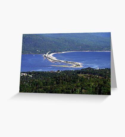 Englishtown-Cape Breton Greeting Card