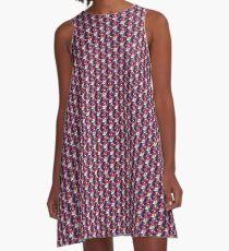Col Reb | 8 Bit A-Line Dress