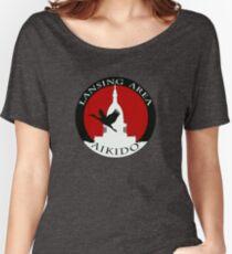 LAA Full Text Logo Women's Relaxed Fit T-Shirt