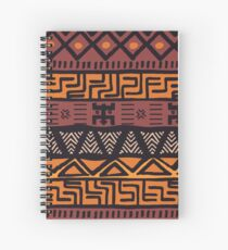 Colorful Bohemian Pattern Spiral Notebook