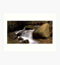 Mini Lesmurdie Falls Art Print