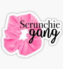 Scrunchie gang sticker Sticker