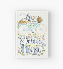 Like a Bicycle Hardcover Journal