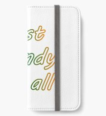Best dandy at all tee shirt iPhone Wallet/Case/Skin