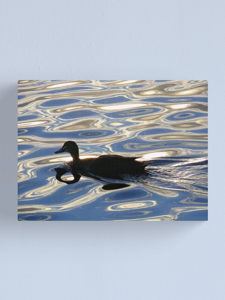 Alternate view of Black and Blue 2 Canvas Print