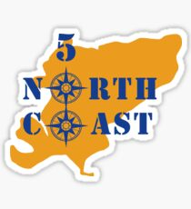 North Coast 500 Scotland Sticker