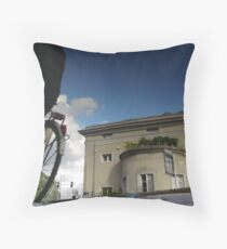 Reflections of Amsterdam - At the Poort Throw Pillow