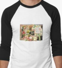 Closely Watched Things.. Men's Baseball ¾ T-Shirt