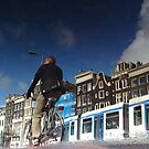 Reflections of Amsterdam - Urban Traffic by AmsterSam