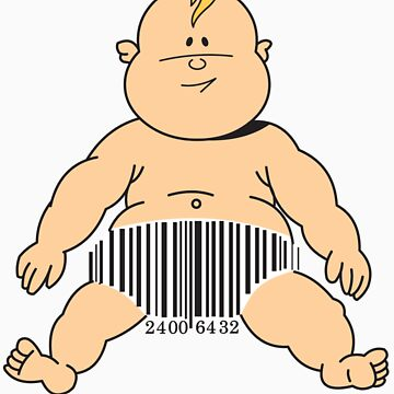 Barcode Baby by tridibghosh