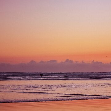 Sunset Surf 2 by Staceland