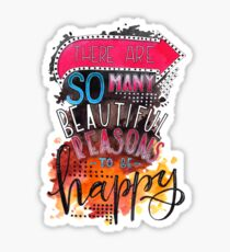 Inspirational quote Sticker