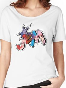 Jem and the Holograms - Logo - Group Color Women's Relaxed Fit T-Shirt