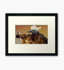 Mortal Kombat. Erron Black Framed Print