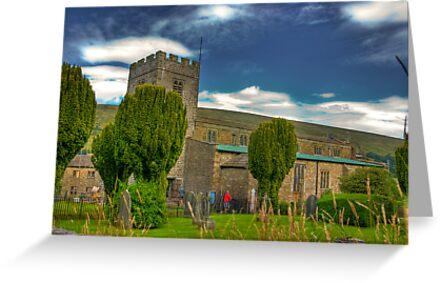 Dent Church - Dentdale. by Trevor Kersley