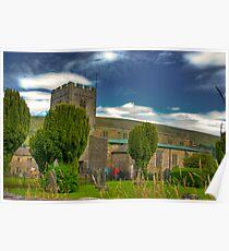 Dent Church - Dentdale. Poster