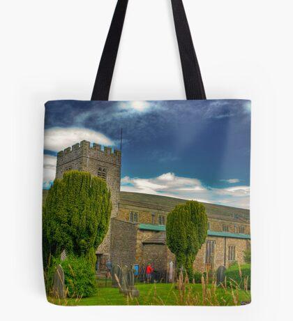 Dent Church - Dentdale. Tote Bag