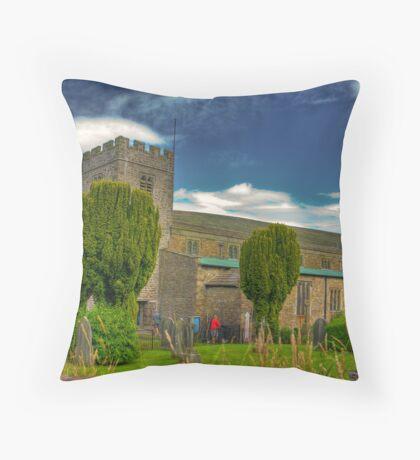 Dent Church - Dentdale. Throw Pillow