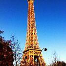 The Eiffel Tower by Chloe .