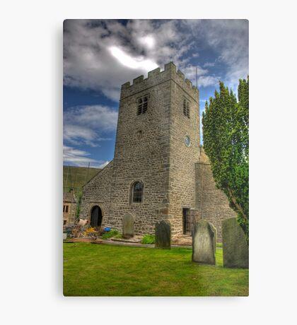 Dent Church Tower - Dent Metal Print