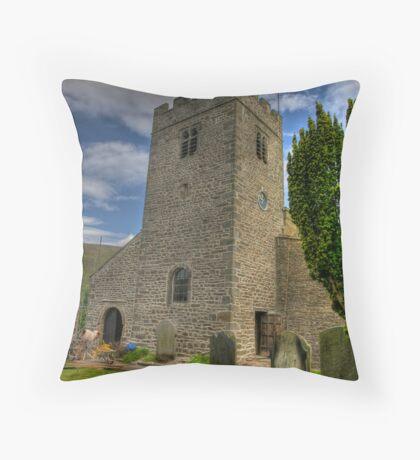Dent Church Tower - Dent Throw Pillow