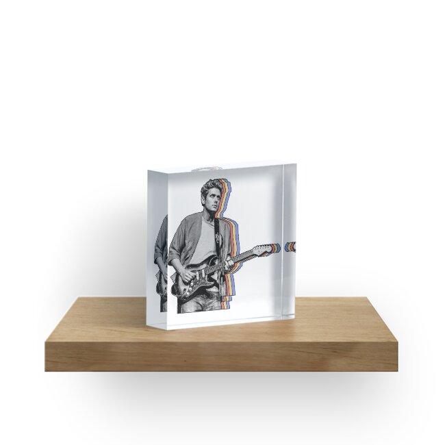 John Mayer Layered by hrubiks