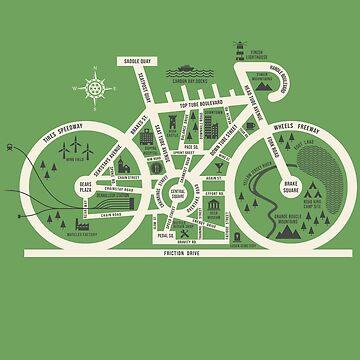 Fahrradstadt MAP von spike00