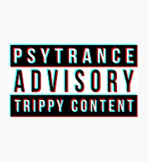 Psytrance Photographic Print