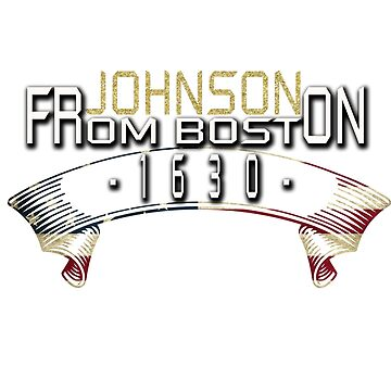JOHNSON FROM BOSTON 1630 by Hopeandshop