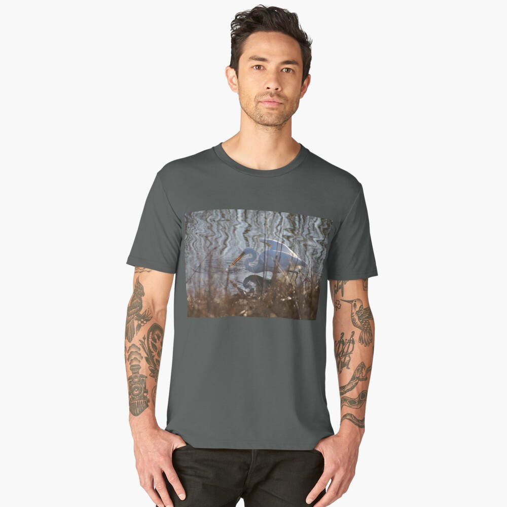 In the Reeds Men's Premium T-Shirt Front