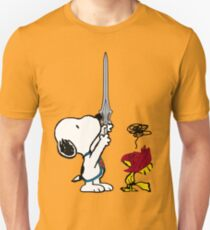He-Dog and Battle Bird Unisex T-Shirt
