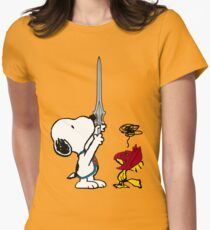 He-Dog and Battle Bird Women's Fitted T-Shirt