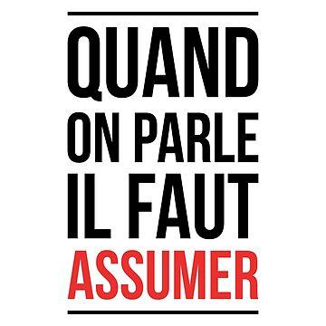 """booba vs kaaris Bagarre T-Shirt Booba: """" Quand On Parle Il Faut Assumer """" by drakouv"""