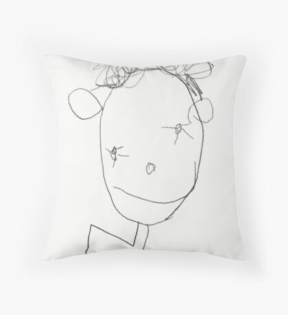 Daddy 3 Throw Pillow
