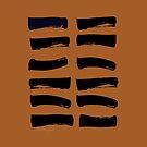 02 The Receptive I Ching Hexagram by SpiritStudio
