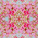 Apple Blossom Fugue Blue Variation by Candy Paull