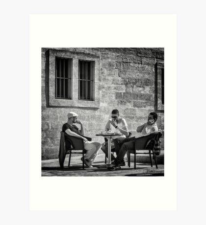 The Boys of France Art Print