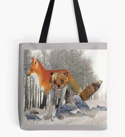 The Fox/ pattern  (5112 Views) Tote Bag