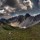 Mountainous Outlook by Stefan Trenker