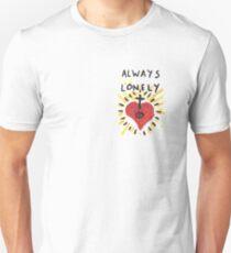 Camiseta unisex Siempre solo