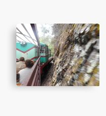 Narrow Guage Train Canvas Print