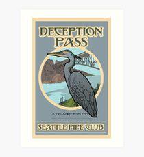 Deception Pass  Art Print