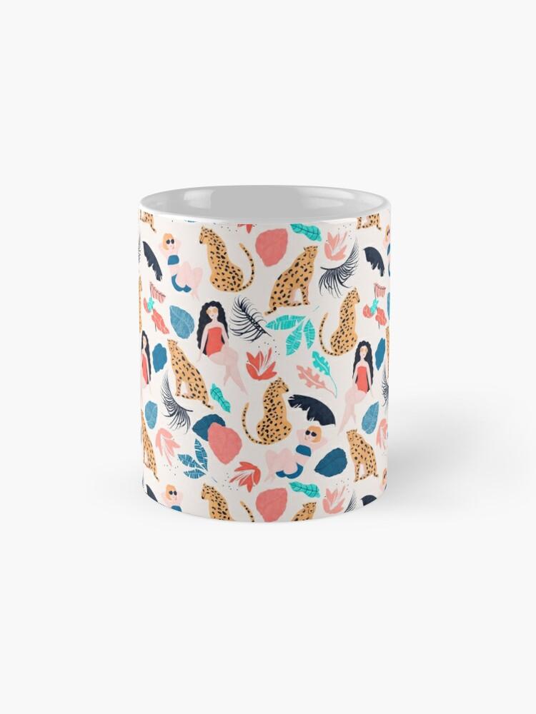 Alternate view of Tropical girls and Cheetah Standard Mug
